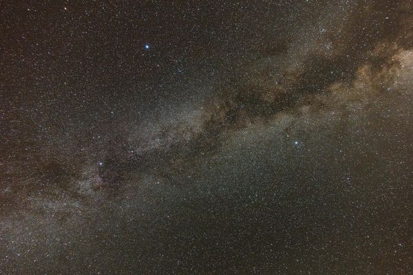 The Milky Way from Lake Riverside --