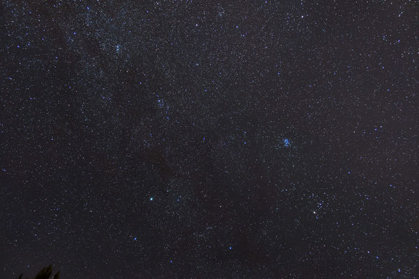 Pleiades and the Double Cluster --